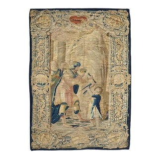 "Antique 17th Century ""Scvlptvra"" Pictorial Brussel Tapestry For Sale"