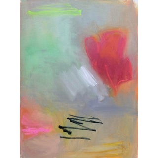 """""""Love in the Air"""" by Trixie Pitts Abstract Expressionist Oil Painting For Sale"""