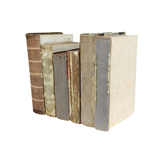 Deconstructed Antique Books - Set of 6 - Image 1 of 4