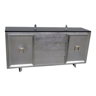 Art Deco Style Slate Top Sideboard For Sale