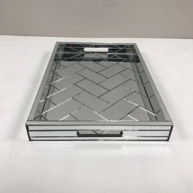 Decorative Mirrored Table Tray - Image 7 of 8