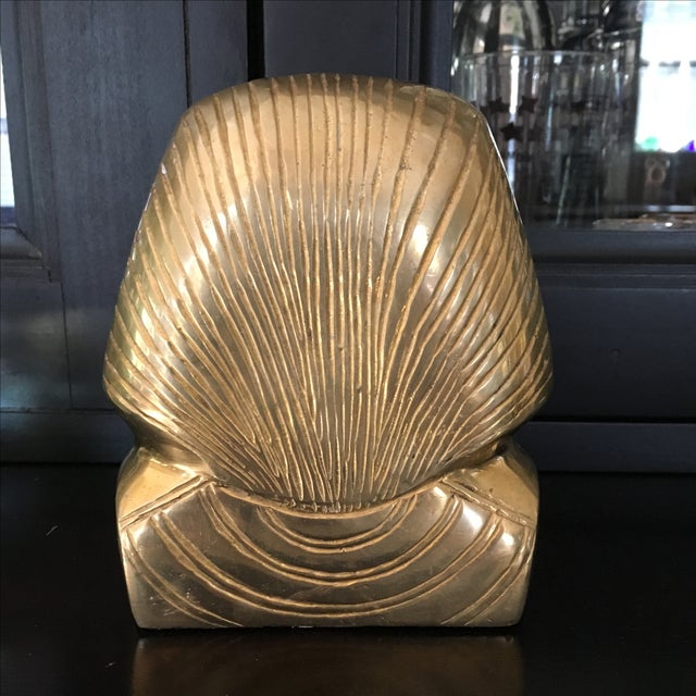 Vintage Solid Brass Egyptian Bust of King Tut For Sale In Austin - Image 6 of 8