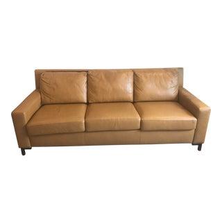 Modern American Leather Comfort Sleeper Sofa For Sale