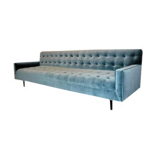 Customizable Winch Button-Tufted Sofa For Sale