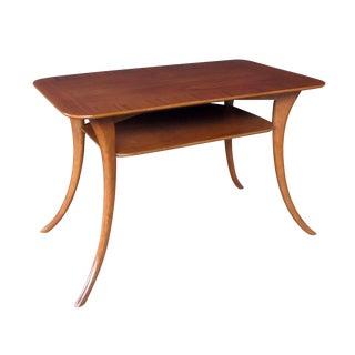 A Stylish American Rectangular Walnut Side Table; Widdicomb For Sale