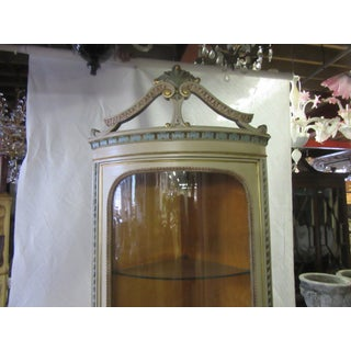 1950's Vintage Hand Painted Italian Corner Curio Preview