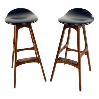 Erik Buck Rosewood Barstools For Sale