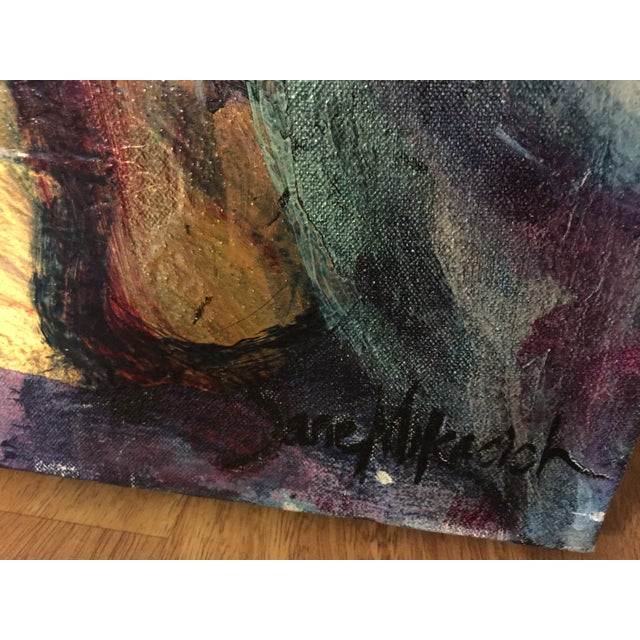 Jane Mikacich Contemporary Abstract Paintings - A Pair For Sale - Image 4 of 8