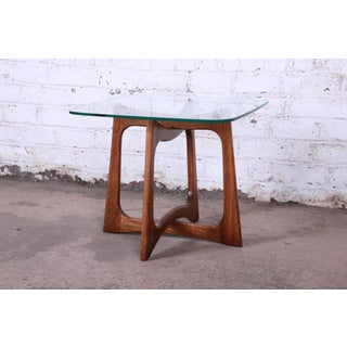 Adrian Pearsall for Craft Associates Sculpted Walnut Side Table Preview