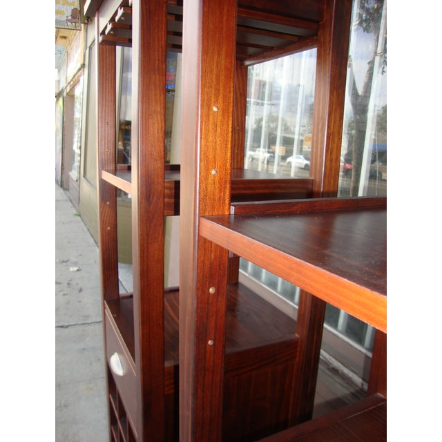 1980s 1980s Wooden Wine Cabinets - a Pair For Sale - Image 5 of 11