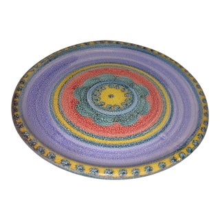 Vintage Desimone Hand-Painted Dish/ Plate For Sale