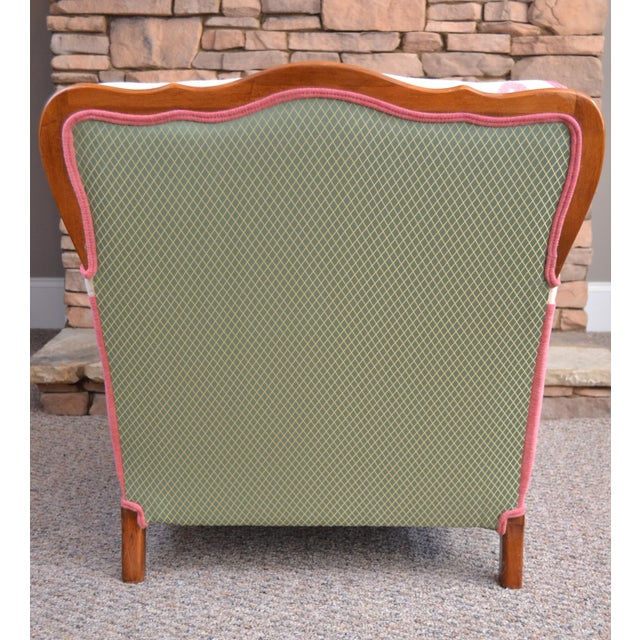Mid-Century Modern Mid-Century Gardenia Armchair For Sale - Image 3 of 4
