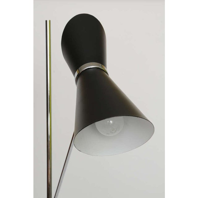 Double Articulating Arm Cone Floor Lamp - Image 6 of 8