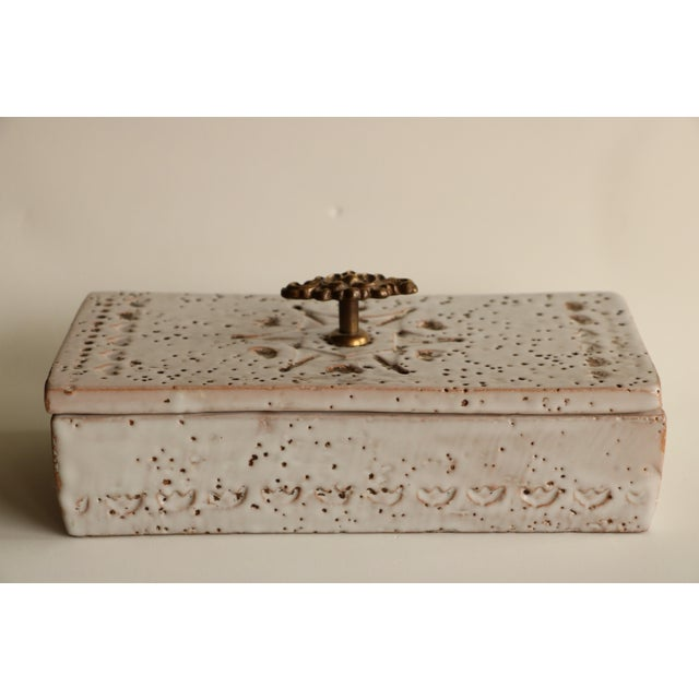 Raymor Italian Art Pottery Box - Image 7 of 7