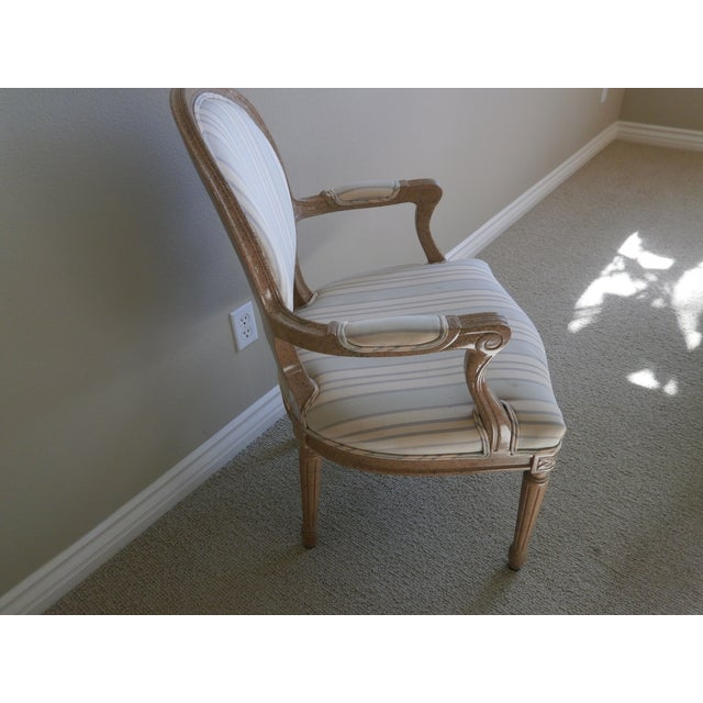French Neoclassical Armchairs - Set of 8 - Image 3 of 6