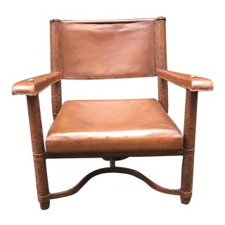 Jacques Adnet (1900-1984), Armchair, 1952 For Sale