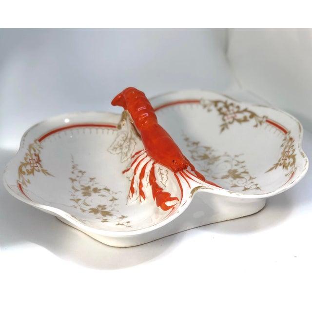 Lobster Faïence Serving Platter For Sale In New York - Image 6 of 12