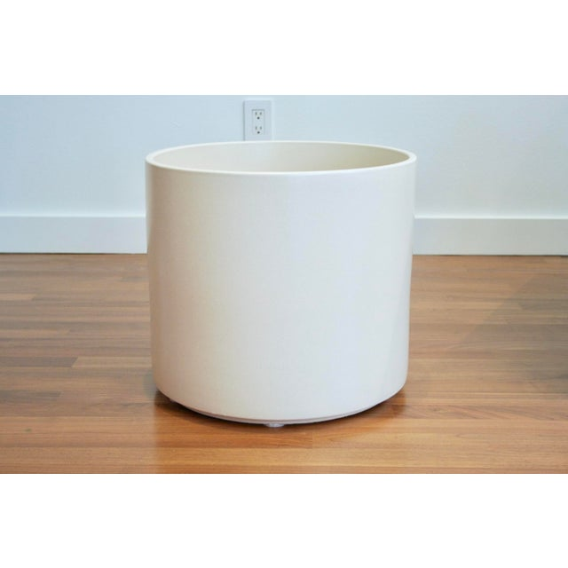Boho Chic Tree Size Gainey Architectural Pottery Planter For Sale - Image 3 of 12