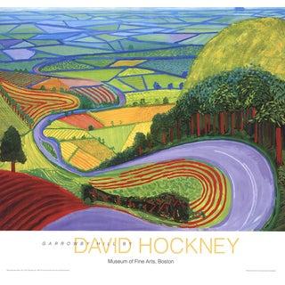 David Hockney, Garrowby Hill, Offset Lithograph For Sale