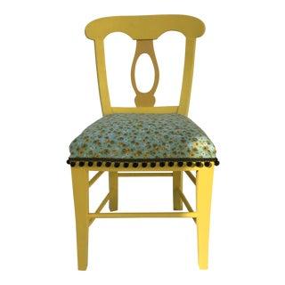 Mid-Century Biedermeier Style Side Chair For Sale