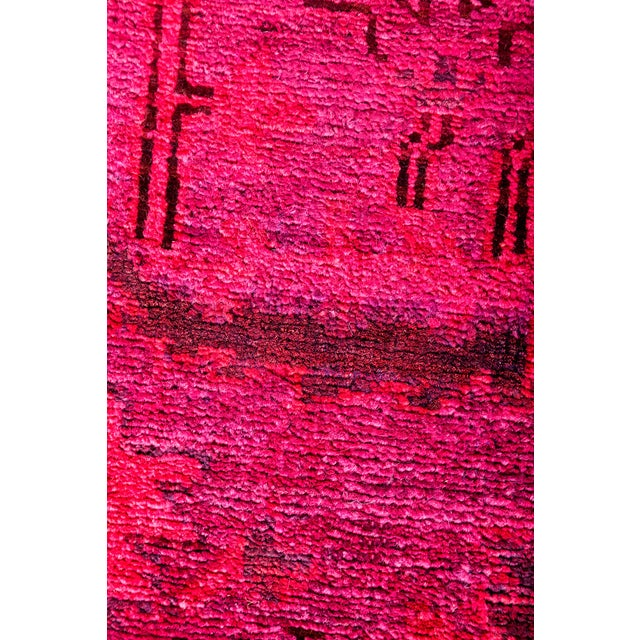"Vibrance Hand Knotted Runner Rug - 2' 6"" x 7' 8"" - Image 3 of 4"