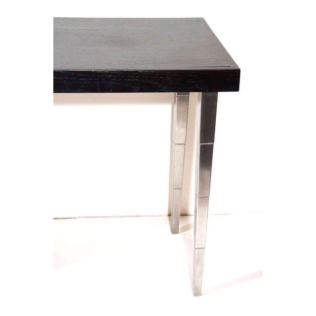 Metal Art Deco Vanity Table and Desk by Robsjohn-Gibbings for Widdicomb For Sale - Image 7 of 11