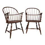 Image of Vintage Windsor Chairs - A Pair For Sale