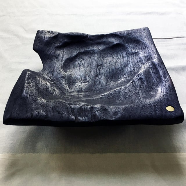 Emberbowl - a handmade charred wood vessel from Christian Nyberg. Starting with hardwood board - in this case walnut -...