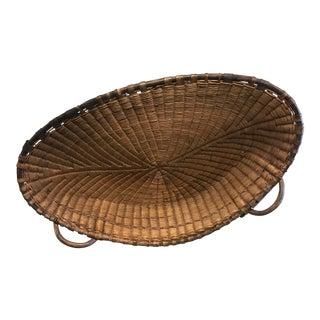 French Reed Winnowing Basket