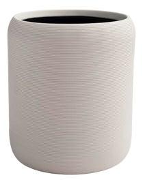 Image of Ceramic Wastebaskets and Trashcans