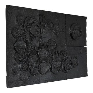Tim Keenan Ceramic Wall Sculpture For Sale