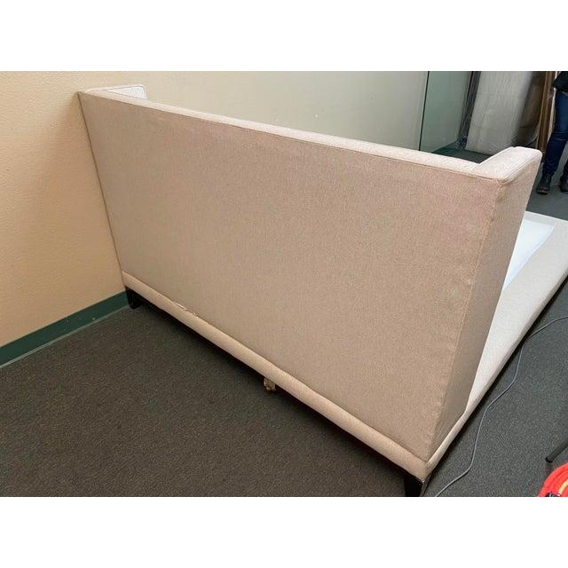 Williams-Sonoma Queen Size Williams-Sonoma Home Presidio Platform Bed Frame For Sale - Image 4 of 13