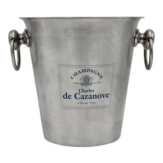 Mid Century French Charles De Cazanove Champagne Ice Bucket For Sale