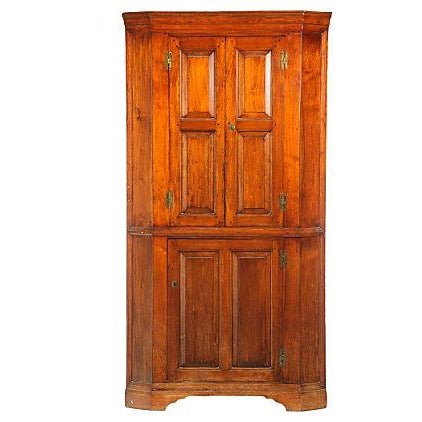 18th-Century Chippendale Period Corner Cupboard - Image 1 of 5