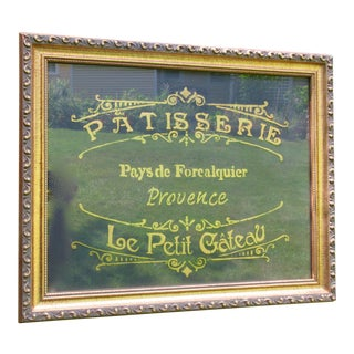 French Bakery Pastry Sign For Sale