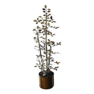 Curtis Jere Style Freestanding Bamboo Tree For Sale