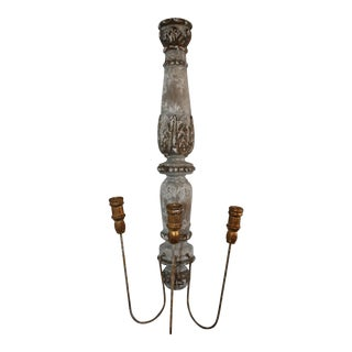 Chateau Pinot Wall Candelabra For Sale