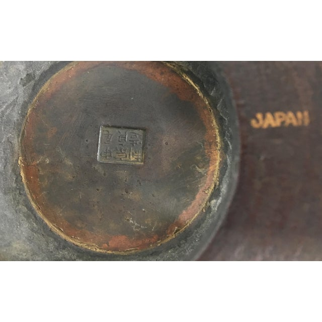 Bronze Japanese Bronze Bowl For Sale - Image 7 of 9