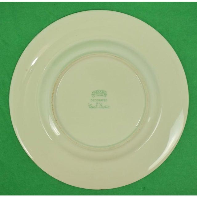 1950s Vintage Frank Vosmanksy Dinner Plate For Sale In New York - Image 6 of 7