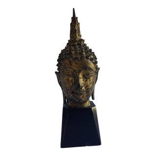 Thai Style Bronze Buddah Bust