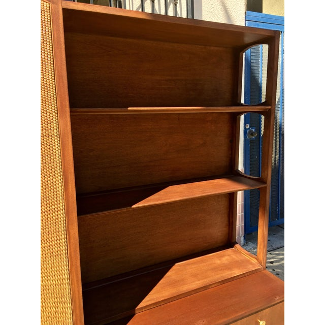 Mid Century Modern 2 Piece Bookshelf - Image 4 of 9