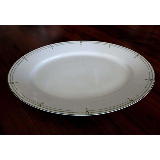White Vintage Rosenthal Large Serving Platter For Sale - Image 8 of 8