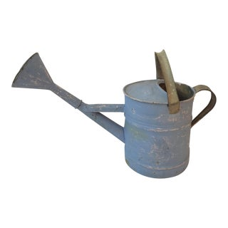 French Blue Watering Can
