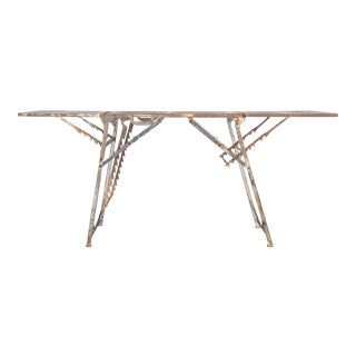 1940s Folding Field Table For Sale