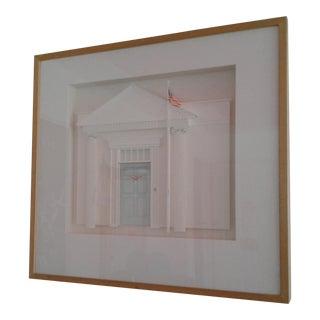 """""""American Facade #4"""" Guenther Riess 3-D Art"""