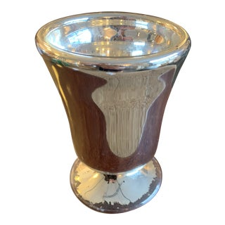 1910s Mercury Glass Vessel For Sale