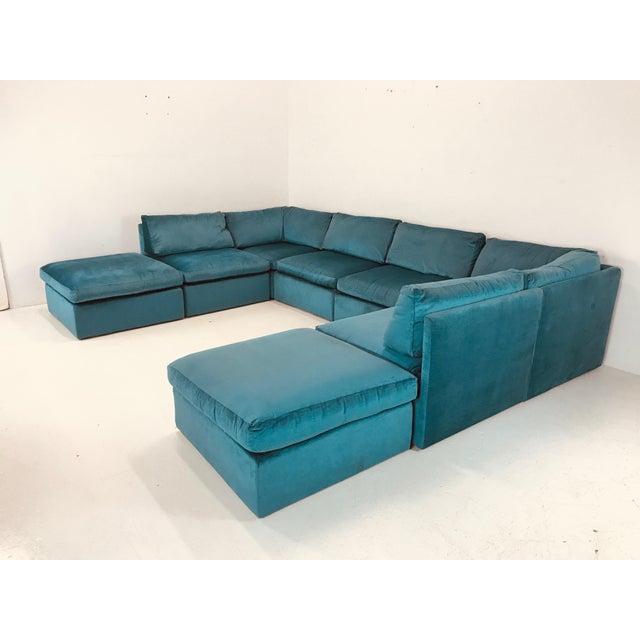 1980s Milo Baughman Modular Sofa For Sale - Image 5 of 12