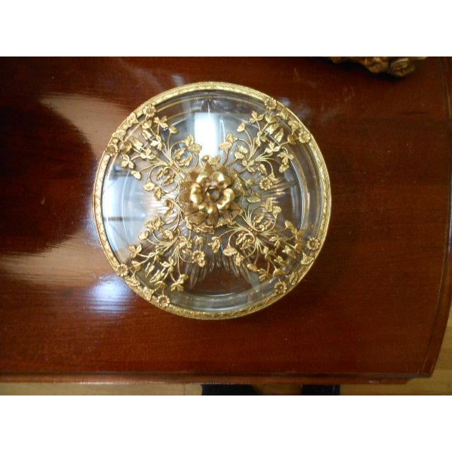 Antique Gold Ormolu Divided Dish For Sale - Image 4 of 10