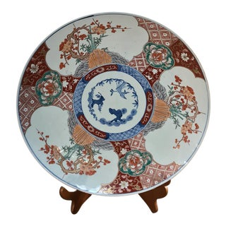 1900s Antique Imari Charger For Sale