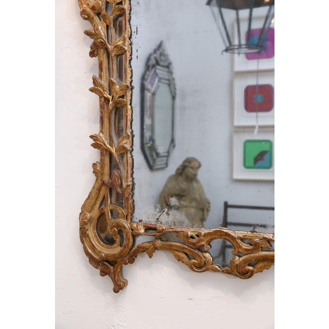 French Regence Period Giltwood Mirror For Sale - Image 3 of 11